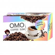 Omo Plus Coffee Slim กาแฟลดน้ำหนัก โอโม่ บรรจุ 10 ซอง (1 กล่อง)